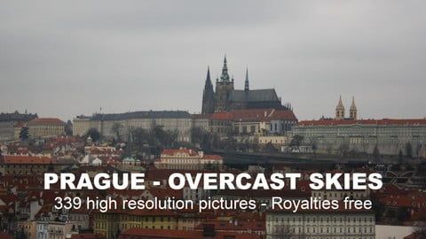 Prague - Overcast skies reference pack