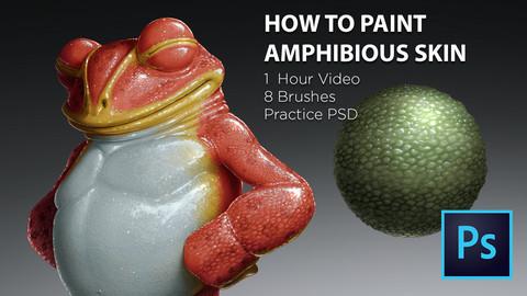 Painting Amphibious Skin