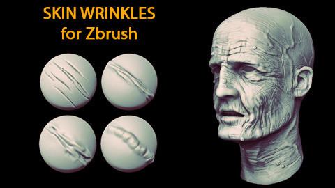 Skin Wrinkles for Zbrush