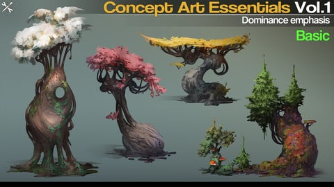 Concept Art Essentials Vol.1