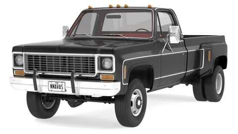 VINTAGE 4WD DUALLY PICKUP TRUCK 8