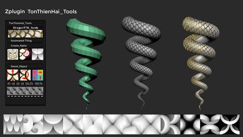 Ton Thien Hai tools 1.1 plugin for Zbrush