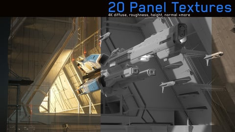 Large Scale Panels Textures