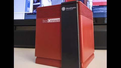 SGi Crimson Jurassic Park Pi Case for 3D printing
