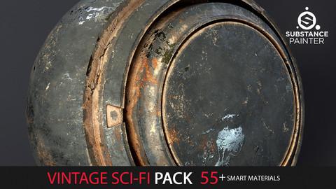 Vintage Sci-Fi Pack  55+ Smart Materials