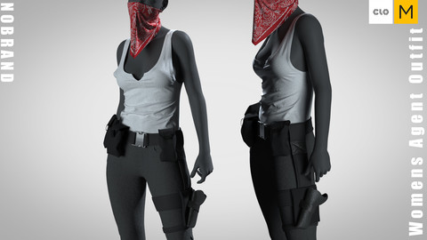 Womens - Agent Outfit