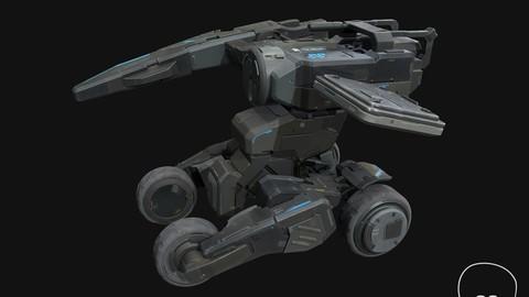 sci-fi model537 3D model