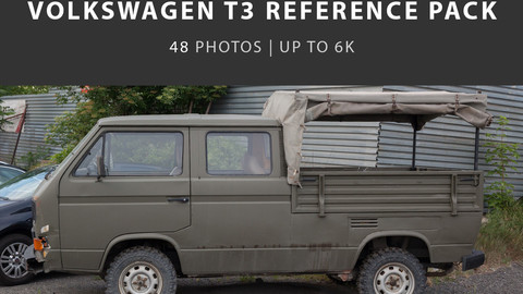 Volkswagen t3 - Army car project reference pack