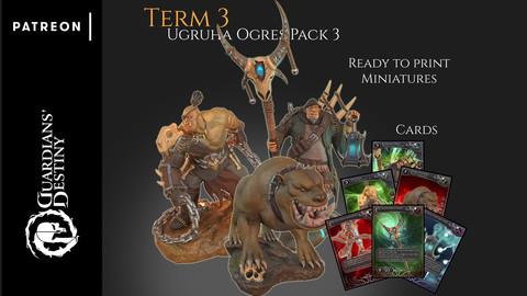 Term 3 - Ugruha Ogres pack 3