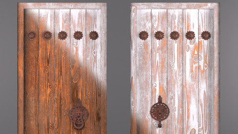 Traditional iranian door