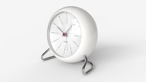 Low-poly PBR Table Clock set - 001