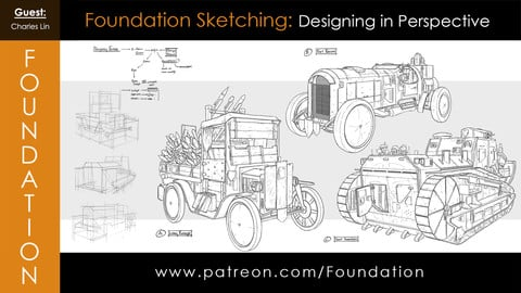 Foundation Art Group: Foundation Sketching - Designing in Perspective with Charles Lin