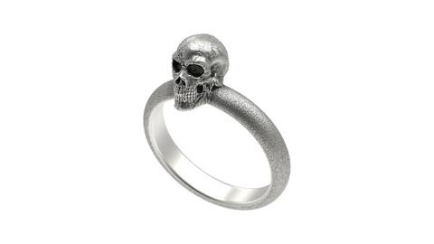 Skull Single Ring