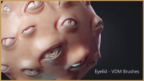 Zbrush - Eyes - VDM+IMM Brushes