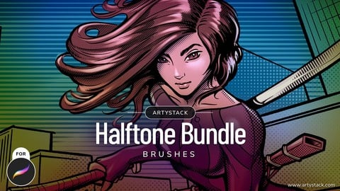 Halftone – Procreate Brushes