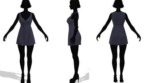 Dresses_01-Marvelous Designer