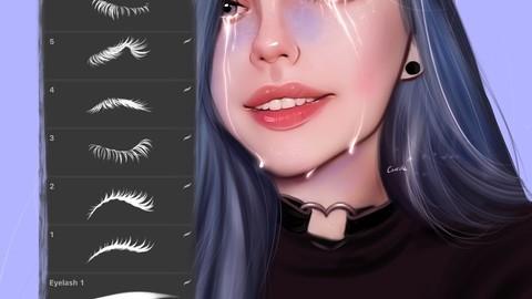 Procreate - Eyelashes set