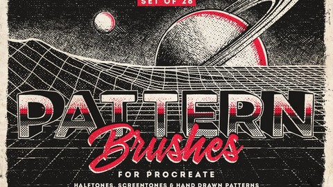 Pattern Procreate brushes - Brush Pack