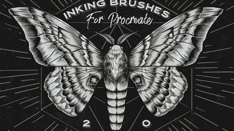 Procreate Inking brushes - set of 20