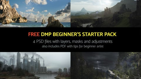 Free DMP beginners's starter pack (4 PSD files)