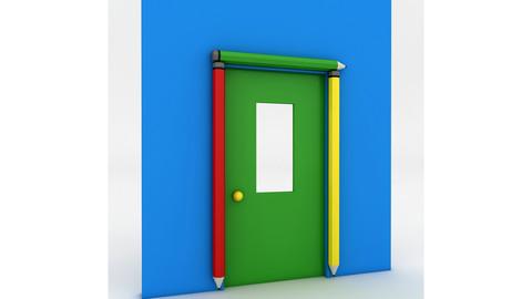 Kindergarten Door