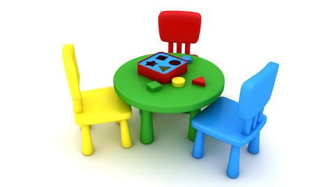 Kindergarten Table Chair