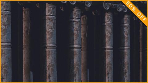 Antique Temple Columns