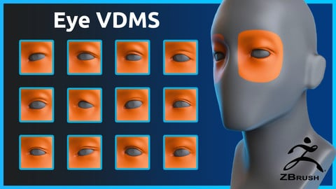 Zbrush - Eye - VDM Brushes