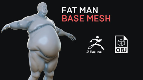 Fat Man - Base Mesh