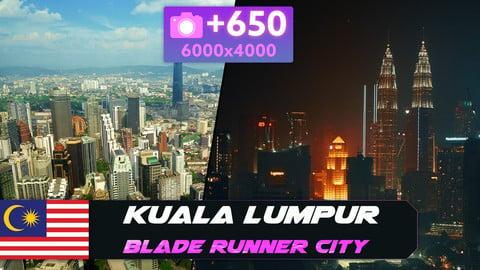 Blade Runner city - Kuala Lumpur