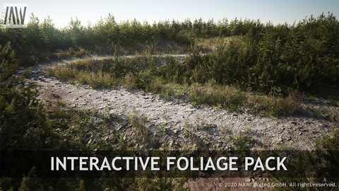 UE4 - INTERACTIVE FOLIAGE PACK