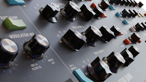 Behringer Poly D - Moog Synthesizer