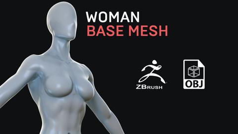 Woman - Base Mesh