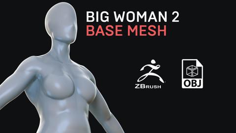 Big Woman 2 - Base Mesh