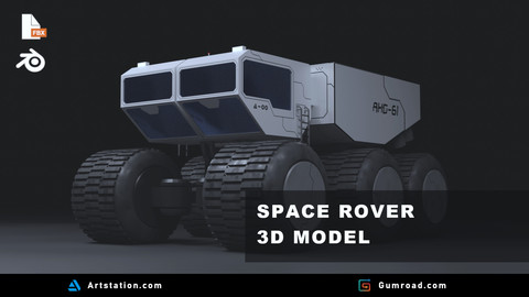 Planetary Rover | 3D Model