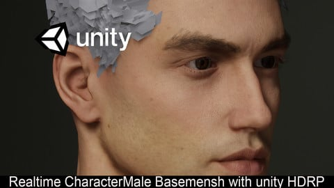 male_base_mesh_man_ Anatomy