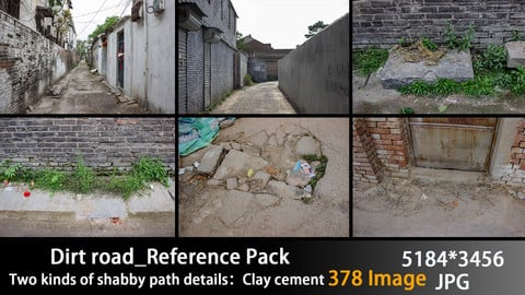 Dirt road_Reference Pack