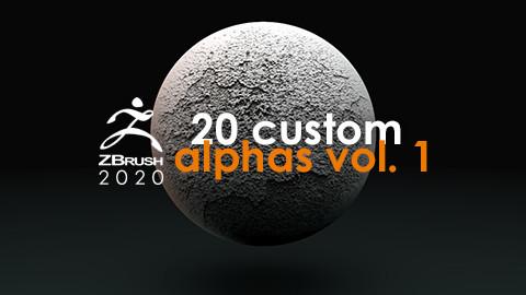 20 Custom Alphas vol .1