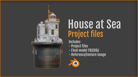 House at Sea - project files