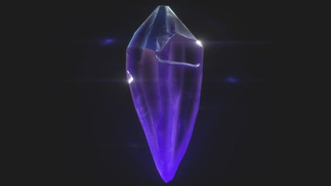 Glowing Crystal Material