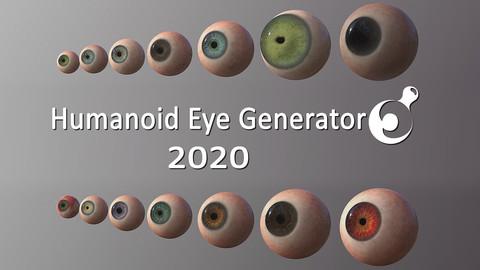 Humanoid Eye Generator 2020