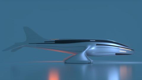 Futuristic Drone D 1