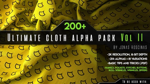 200+ Ultimate Cloth Alpha Pack VOL II