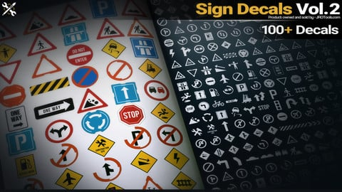 Sign Decals Vol.2