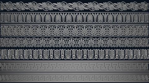 14 Classic Greek Trim Patterns
