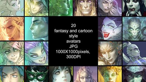 20 Avatars