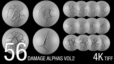 56 damaged alphas (4K)