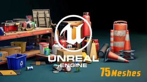 UE4: Realistic Garage Tools
