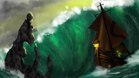 Set Sail (Digital Painting)