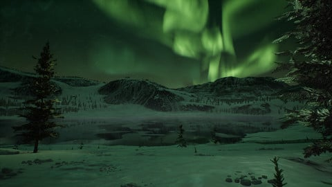 Arctic Aurora - Unreal Engine 4
